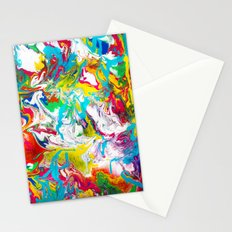 Gravity Painting 8 Stationery Cards