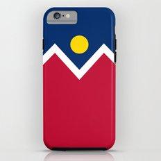 Denver (Colorado) city flag - Authentic version iPhone 6 Tough Case