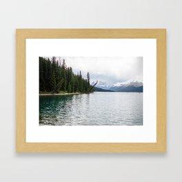Maligne Lake II Framed Art Print