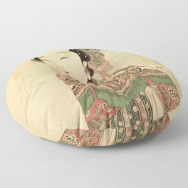 Wish you Good Health and Fortune Floor Pillow