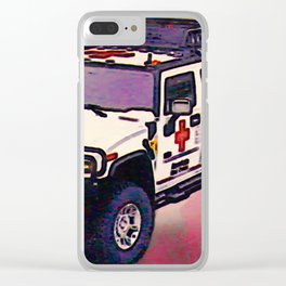 Medical Vehicle 2008 Clear iPhone Case