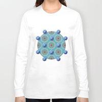 matrix Long Sleeve T-shirts featuring Empyrean Matrix by Peter Gross