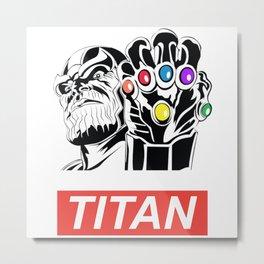 Obey Titan Metal Print