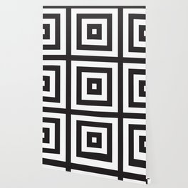 Black Greek Stripes Wallpaper