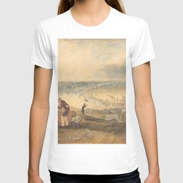 View of London from Greenwich (1825) by J.M.W. Turner T-shirt