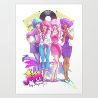 Jem Truly Outrageous  Art Print