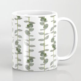 Eucalptus Branches - Naural Botanic Patterns Coffee Mug