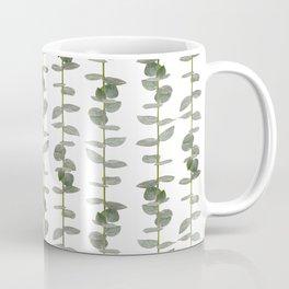 Eucalptus Branches - Naural Botanic Patterns Coffee Mug