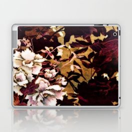 Tropical Blaze Floral Print Laptop & iPad Skin