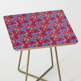 Red and blue Side Table