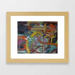 Xodiac Framed Art Print