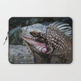 Portrait of an Iguana Laptop Sleeve
