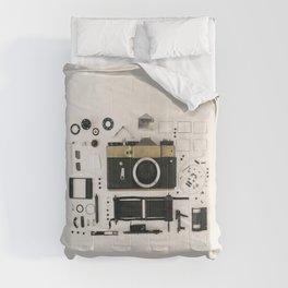 Camera gold Comforters
