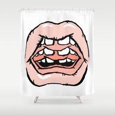 GOSSIP Shower Curtain