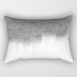 Urban Concrete White Wash Rectangular Pillow