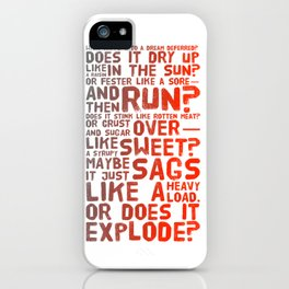 Does It Explode? iPhone Case