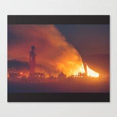 She Burns Canvas Print