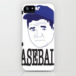I __ Baseball iPhone Case
