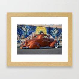 Bonnie x Huitzil Framed Art Print