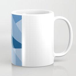 Blu-Geometric Coffee Mug
