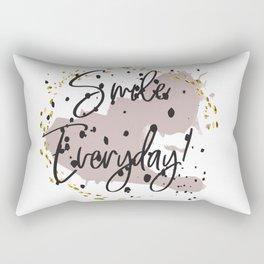 Smile everyday! Concept quotes Rectangular Pillow