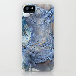 FLORAL AND LACE iPhone Case