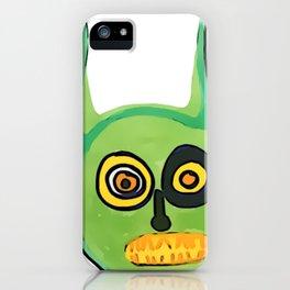 Greenie Meanie iPhone Case