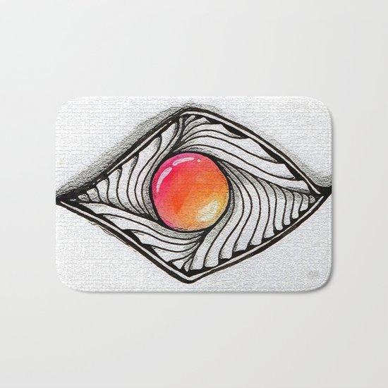 Doodled Gem Sparkle Eye Bath Mat