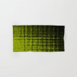 Black olive mosaic Hand & Bath Towel