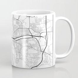 Minimal City Maps - Map Of Syracuse, New York, United States Coffee Mug