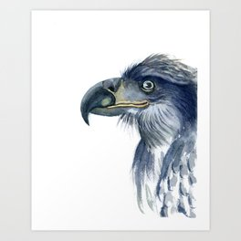 The eagle Art Print
