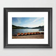 Bavarian Lake Framed Art Print