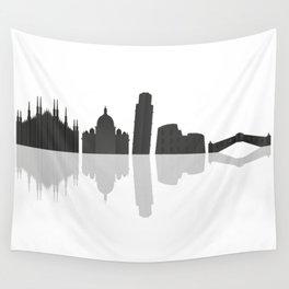 skyline italy Wall Tapestry