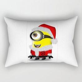 Minion Santa Rectangular Pillow