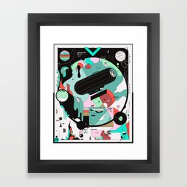 VKVKVKVK Framed Art Print