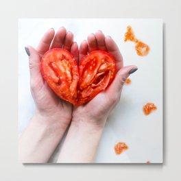 Broken Heart Art Metal Print