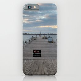 Downtown Toronto Harbourfront Dock iPhone Case