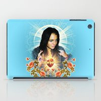 lindsay lohan iPad Cases featuring Our Lindsay of Trashbaggery by Jessica Dudfield