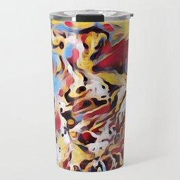 Abstract Background Travel Mug
