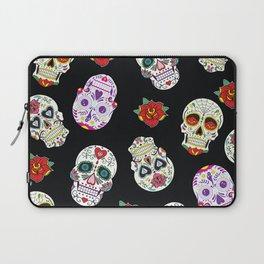 Sugar Skull Pattern Laptop Sleeve