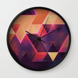 wyll fyll Wall Clock