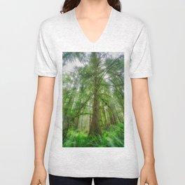 Ethereal Tree Unisex V-Neck