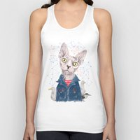 gangster Tank Tops featuring The Gangster by dogooder