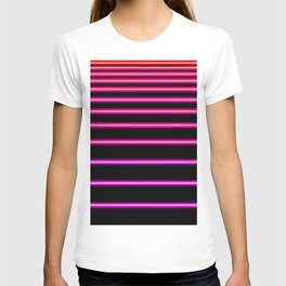 Pink to Red Neon T-shirt