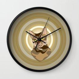 Patron of Curiosity Wall Clock