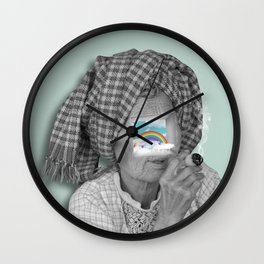 Never Gets Old Inside Wall Clock