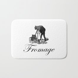 Say Fromage Bath Mat