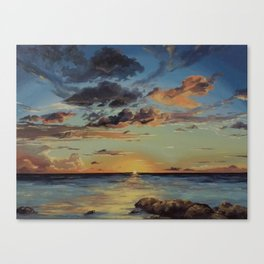 Sunset in the Florida Keys Canvas Print