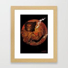 Weapon X! Framed Art Print