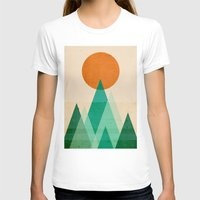 high T-shirts featuring No mountains high enough by Picomodi